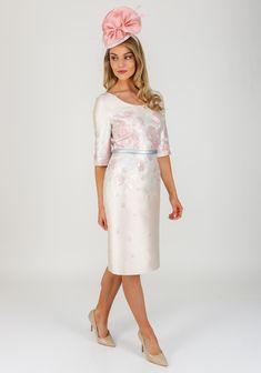 12611eb14e75ca Gabriela Sanchez Metallic Floral Dress