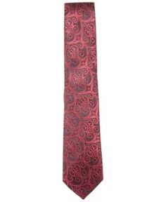 Countess Mara Men's Howard Paisley Tie - Red