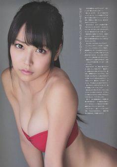 白間美瑠 水着姿のDカップ谷間を強調するNMB48次世代エース 画像35枚 2