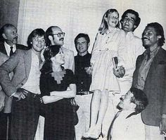 Irvin Kershner, Mark Hamill, Frank Oz, Carrie Fisher, Harrison Ford, Amy Carter, Peter Mayhew, Billy Dee Williams and Kenny Baker