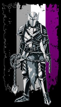 The seventh knight to join the Pride Knights–The Ace! She refused to make love and have children after she was betrothed to a handsome nobleman. She was thrown to the wolves but instead was quickly accepted by them. She wields a mace and holds the. Ace Flag, Transgender Ftm, Ace Pride, Lgbt Love, Lesbian Pride, Lgbt Community, Knight, Photos, Feminism