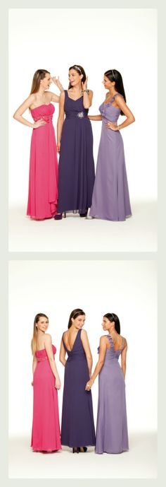 Special Day #bridesmaid dress, style #13159 pictured centre. Available in a range of colours ~ The Moderne Bridal, Cork