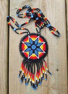 estrella de la mañana nativos americanos abalorios por deancouchie