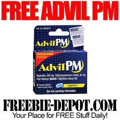FREE Advil PM Pain Relief 4 Count with Coupon at Walgreens - Exp 10/11/14