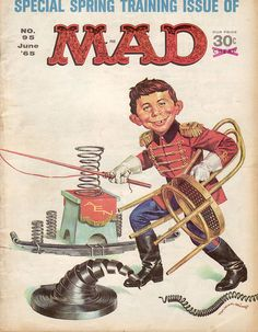 MAD Magazine Cover No. 95 June '65 | Flickr - Photo Sharing!