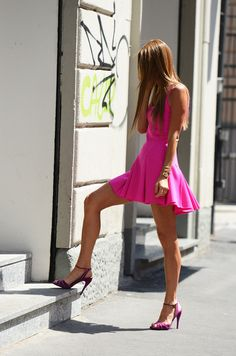 love for hot pink