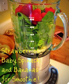 Fat Burning Breakfast Smoothie  (am contemplating on starting this & putting my new blender to good use)