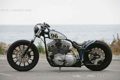 Harley Sportster Bobber... needs forward pegs for stretching out though...