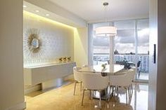 Designer Dining Room by Interiors by Maite