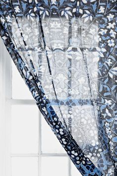 Magical Thinking Flower Medallion Curtain