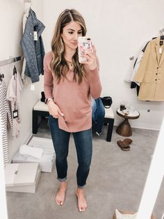 Nordstrom Anniversary Sale 2018 Fitting Room Session - Lauren McBride Outfits 2019 Outfits casual Outfits for moms Outfits for school Outfits for teen girls Outfits for work Outfits with hats Outfits women Fall Fashion Outfits, Mom Outfits, Cute Casual Outfits, Grunge Fashion, Winter Outfits, Mommy Fashion, Teacher Outfits, Comfortable Outfits, Spring Fashion
