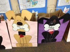 Buzzing About Second Grade: Valentine's Day Bags and Writing Fun!