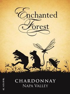 Enchanted Forest Chardonnay - In Photos: The Coolest Wine Labels For 2015 - Forbes