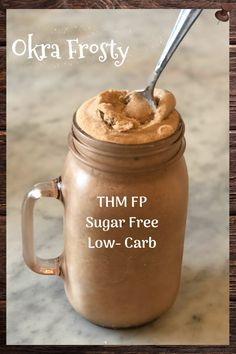 Protein Shake Recipes, Smoothie Recipes, Milkshake Recipes, Trim Healthy Mama Diet, Frosty Recipe, Thm Recipes, Okra Recipes, Healthy Recipes, Dessert Recipes