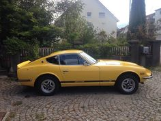 European 1977 #datsun #260z has entered the #datsungarage virtual car show. Sandra visits us from #switzerland!  Tag a friend. What's in your garage?  Link in bio.