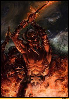 Warhammer 40000,warhammer40000, warhammer40k, warhammer 40k, ваха, сорокотысячник,фэндомы,bloodletter,Khorne,Chaos (Wh 40000),daemon,ruslan korovkin