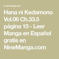 Hana ni Kedamono Vol.06 Ch.33.5 página 10 - Leer Manga en Español gratis en NineManga.com