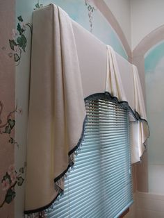 Everyday Artist: Simply Elegant Arched Soft Cornice with Beaded Fringe