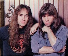 Steve Harris/Bruce Dickinson