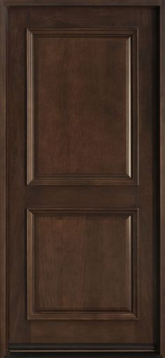 Classic Series Mahogany Solid Wood Front Entry Door - Single - DB-301