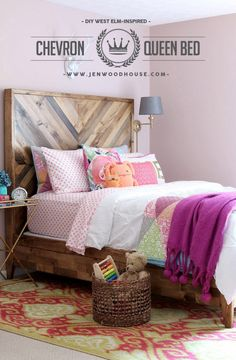 How to build a DIY West Elm-inspired Reclaimed Wood Bed