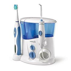 More Effective Brushing and Flossing in One Convenient Device! Removes plaque and debris deep between teeth and below the gumline where brushing and traditional flossing can't reach High-volume reservoir with 90+ seconds of water capacity and sonic toothbrush technology with 25% faster bristle speed than other leading sonic toothbrushes