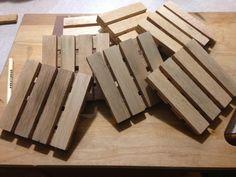 30 Wood Pallet-Like Trivets (Kathy Lyons and David Frankel) Craft Fairs, Wood Pallets, Goal, Great Gifts, David, Crafty, Pallet Wood, Wooden Pallets, Crates
