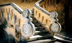 Free Image on Pixabay - Stairs, Baroque, South Of France Concrete Stairs, Concrete Building, Wooden Stairs, Free Pictures, Free Photos, Free Images, Provence, Baroque, Literary Essay