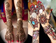 New Bridal Mehndi Designs For Hands
