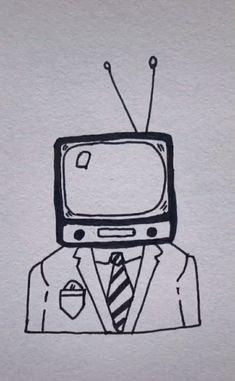 tv head man