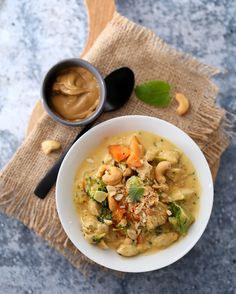 Kremet kylling i peanøttsaus | Sunnere Livsstil