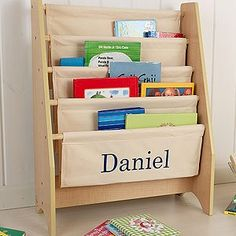 Personalized KidKraft Sling Bookshelf