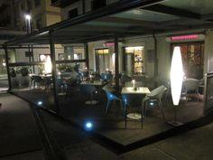 #O'Delito Café-Cocina. #Coruña Terraza-noche