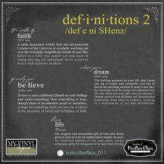 DIGITAL DOWNLOAD ... in AI, EPS, GSD, & SVG formats @ My Vinyl Designer #dreamdefinition