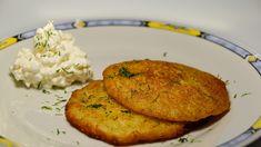 Mini omlete cu cartofi rași și perle de brânză