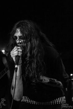 """Ars Veneficium - Dutch Black Metal Band - Photo Credits: Apophis photography"" bullet belt"
