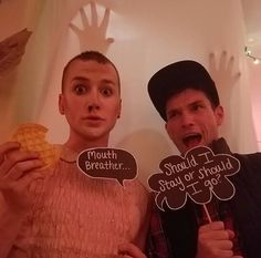 Why is it always dudes playing Eleven? Is no girl brave enough to shave her head?