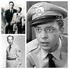 "Jesse Donald ""Don"" Knotts (July 21, 1924 – February 24, 2006) was an American comedic actor. Knotts enlisted in the United States Army after graduation from high school. The 19-year-old soldier was assigned to the Special Services Branch where he entertained the troops. As a ventriloquist, those in charge insisted that most of his work be with Danny, his dummy. Knotts had other plans, so, when they set sail for home, he left Danny on the beach and reported him missing in action."