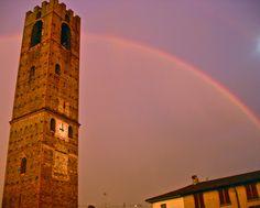 Arcobaleno. Mozzanica (BG), Luglio 2002