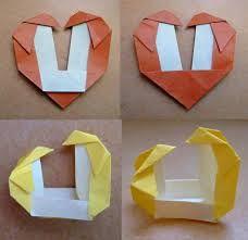 Origami Penguins In Love Heart