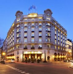 El Palace Barcelona - The Art of Living: Barcelona to Paris  http://www.tauck.com/tours/europe-tours/spain-tours/barcelona-travel-bp-2015.aspx