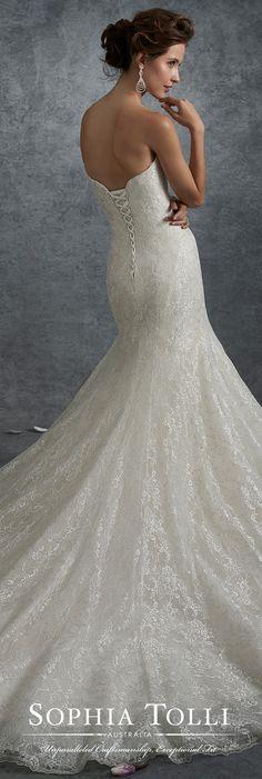 39 Best Sophia Tolli Images On Pinterest Wedding Gowns Bridal