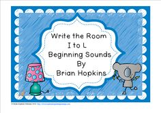 Write The Room Beginning Sounds I, J, K, and L is perfect for Kindergarten and Pre-K once the sounds have been taught and a great review for 1st graders. Children write the room as they find pictures of things that start with letters I, J, K, and L (8 total) and write the whole word on the worksheet. This is perfect for reading centers or early finishers and will get your students up and moving!
