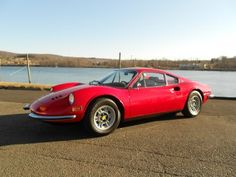"""this is a '72 Ferrari Dino 246 GT. in my opinion one of the most interesting cars developed by Ferrari. Known as the """"pocket supercar"""" it is nowadays a rare car; Selled as """"Dino"""" and not as """"true Ferrari"""" (despite it was!), it was a deadly combination of goodlooking style and driving fun skills. It should remeber to all of us, that the truth (and car driving happiness) is not always in """"flamboyant marketing brands & numbers"""". Don't you think so? ok find a Dino 246 Gt owner unhappy of his…"""