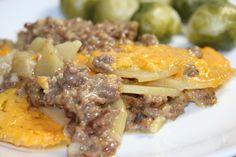 Potato & Deer Sausage Casserole