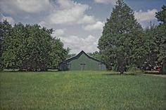 1stdibs   William Christenberry - Green Warehouse, Newbern, Alabama, 1984