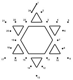 This Star of David connect the dots page features a dot to dot puzzle for Hanukkah. This activity worksheet helps kids practice connecting the dots, counting by (Connect . The page is printable and can be used in the classroom or at home. Hanukkah For Kids, Feliz Hanukkah, Hanukkah Crafts, Jewish Crafts, Kwanzaa, Happy Hanukkah, Holiday Crafts, Holiday Ideas, Kindergarten Colors