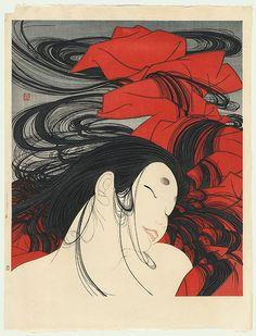 Matsukaze (The Wind through the Trees), circa 1979 by Yoshio Okada (born 1934)