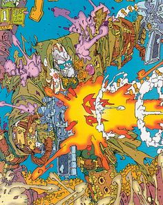 Keith Giffen's Trencher work