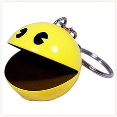 Porte-clés Pac-Man Sonore #pacman #porteclés #gadget
